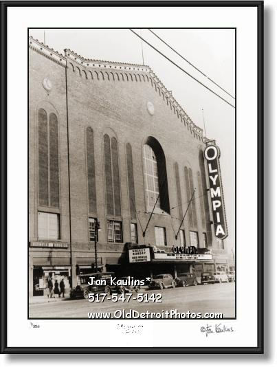 OLYMPIA STADIUM 1939 Olympia photo art print