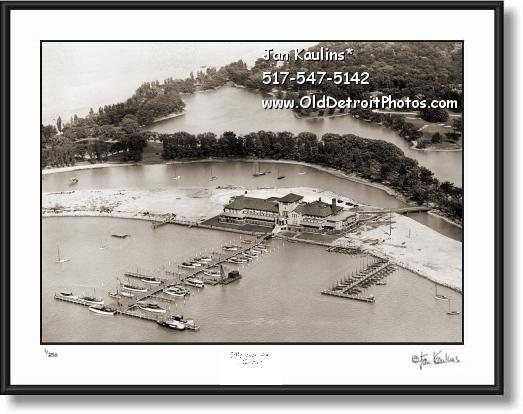 OLD DETROIT YACHT CLUB photo picture print