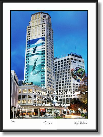 Click on this image to see an enlarged view of BRODERICK TOWER photo print Broderick Tower.