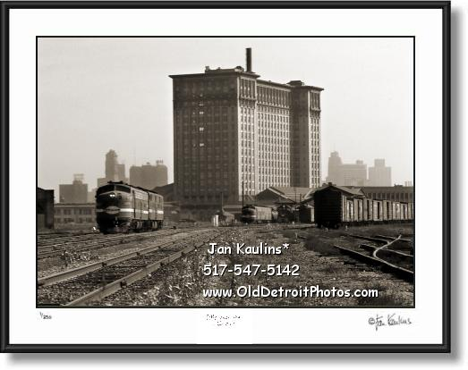Click on this image to see an enlarged view of OLD MICHIGAN CENTRAL TRAIN DEPOT photo .
