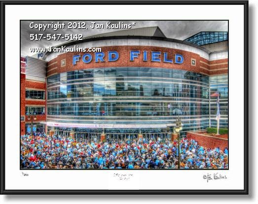 FORD FIELD Ford Field Detroit photo picture print