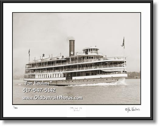 Click on this image to see an enlarged view of BOBLO BOAT COLUMBIA BOBLO photo print Boblo.