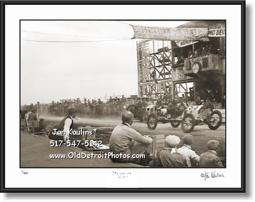 Click on this image to see an enlarged view of ABBOTT-DETROIT 1911 Vanderbilt Cup photo print.