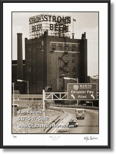 Click on this image to see an enlarged view of STROHS BREWERY photo print STROHS BREWERY.