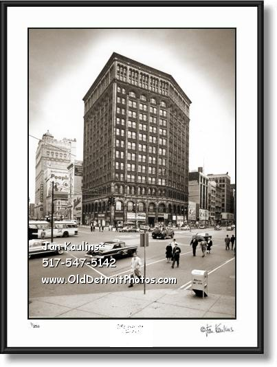 MAJESTIC BLDG Detroit Majestic Bldg photo print