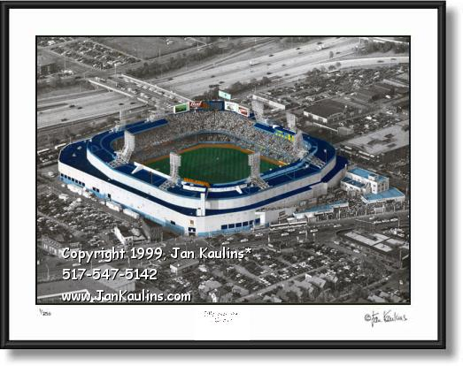 LAST GAME Detroit Tiger Stadium photo picture