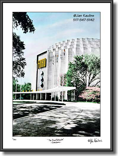 FORD ROTUNDA Dearborn picture photo print