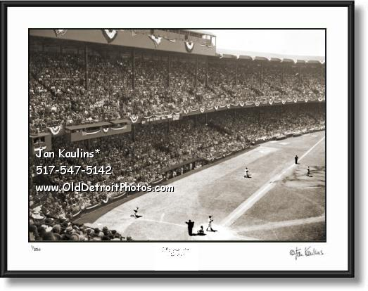 BRIGGS STADIUM photo print All Star Game 1941