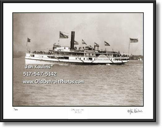 FRANK E. KIRBY Steamship Detroit photo picture