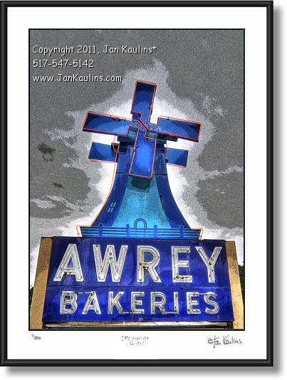 Click on this image to see an enlarged view of AWREY BAKERY Awrey Bakery photo art print.