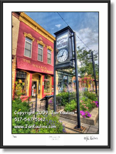 Click on this image to see an enlarged view of MILFORD MI photo art print MILFORD MI photo.