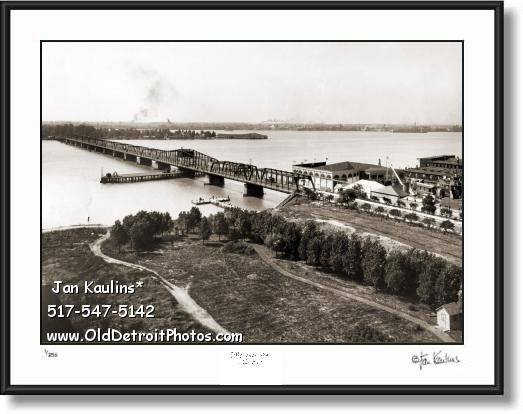OLD BELLE ISLE BRIDGE Electric Park photo