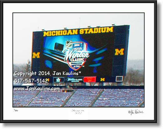BRIDGESTONE WINTER CLASSIC 2014 photo print