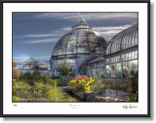 Click on this image to see an enlarged view of BELLE ISLE CONSERVATORY photo  picture print.