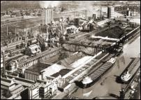 Click on this image to see an enlarged view of FORD ROUGE PLANT Ford Rouge Plant photo 1953.