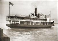 Click on this image to see an enlarged view of  SS CADILLAC DETROIT Ferry Boat 1928 photos.