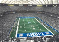 Click on this image to see an enlarged view of Pontiac Silverdome photo SILVERDOME print.