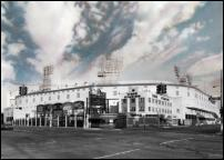 Click on this image to see an enlarged view of TIGER STADIUM Detroit picture photo 1912-1999.