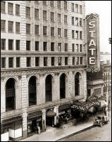 Click on this image to see an enlarged view of STATE THEATER Detroit State Theater photo print.