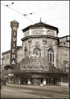 Click on this image to see an enlarged view of GRAND RIVIERA THEATER DETROIT photo print.