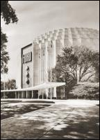 Click on this image to see an enlarged view of FORD ROTUNDA Dearborn photo art print picture.