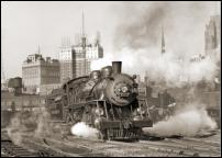 Click on this image to see an enlarged view of PERE MARQUETTE photo Detroit Train photo print.