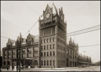 Click on this image to see an enlarged view of FORT STREET UNION DEPOT STATION Detroit.