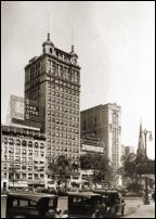 Click on this image to see an enlarged view of Grand Circus Park Adams Theatre Detroit photo.