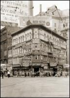 Click on this image to see an enlarged view of KINSEL DRUG STORE Detroit 1934 photo print.
