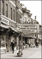 Click on this image to see an enlarged view of TIME THEATER vintage Detroit movie theater photo.