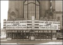 Click on this image to see an enlarged view of Vintage Detroit HOLLYWOOD Movie Theater photo.