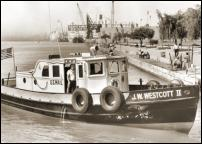 Click on this image to see an enlarged view of U.S. Mail Boat J.W.Westcott II photo art print.