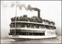 Click on this image to see an enlarged view of Bob-Lo STEAMSHIP SS PROMISE Detroit photo.