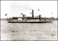 Click on this image to see an enlarged view of DETROIT STEAMSHIP IDLEWILD 1901 photo print.