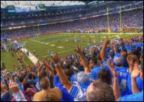 Click on this image to see an enlarged view of FORD FIELD Detroit Lions photo picture photo.