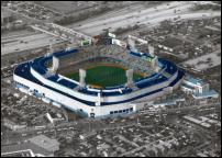Click on this image to see an enlarged view of LAST GAME Detroit Tiger Stadium photo picture.