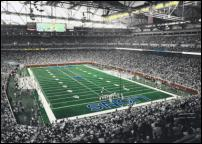 Click on this image to see an enlarged view of FORD FIELD Opening Day photo print FORD FIELD .