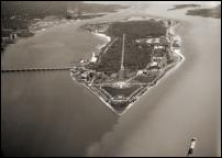Click on this image to see an enlarged view of BELLE ISLE Detroit BELLE ISLE aerial photo print.